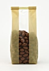 Bold Cream Stripes Small Bag - Thumbnail