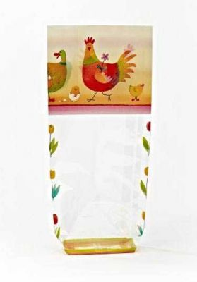 Colorful Chickens Bag