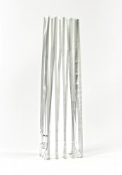- Large Silver Strips Bag