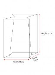 Large Unprinted Bag Paper Patch - Thumbnail