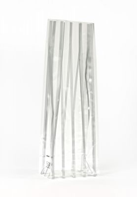 Medium Silver Strips Bag