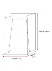 Rectangular Bottom Bag - Thumbnail