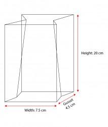 Small Heat Sealed OPP Bag - Thumbnail