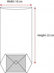 Small Orange Window Bag - Thumbnail