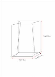 3 kg Side/Gusset Alüminum Pet Coffee Bags - Thumbnail