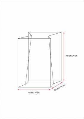 3 kg Side/Gusset Alüminum Pet Coffee Bags