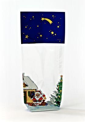 Blue Christmas Bag