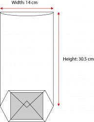 - Large Kraft Window Bag (1)