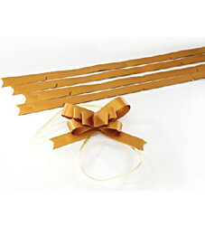 - Large Matt Gold Pull Bow