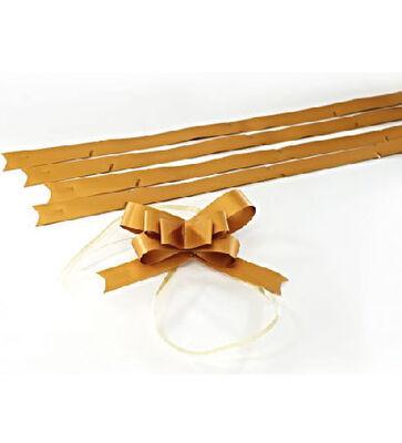 Large Matt Gold Pull Bow