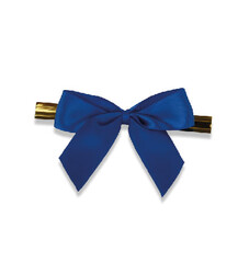 - Small Blue Ribbons With Ties