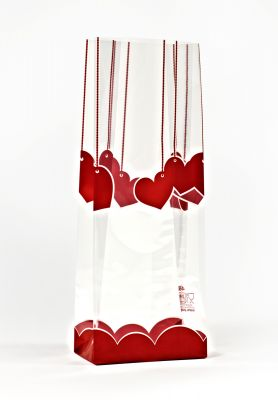 Small Red Hearts Bag
