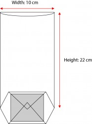 Small Red Window Bag - Thumbnail