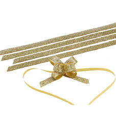 - Small Silvery Gold Pull Bow