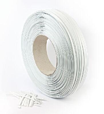 White Tin Ties (BOBIN)