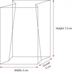 X-Mini Heat Sealed OPP Bag - Thumbnail